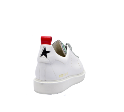 GOLDEN GOOSE DONNA Donna SNEAKERS STARTER BIANCO CUORI 37-2, 38-2, 39-2, 40, 36 immagine n. 4/4
