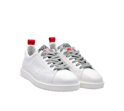 GOLDEN GOOSE DONNA Donna SNEAKERS STARTER BIANCO CUORI 37-2, 38-2, 39-2, 40, 36 immagine n. 2/4
