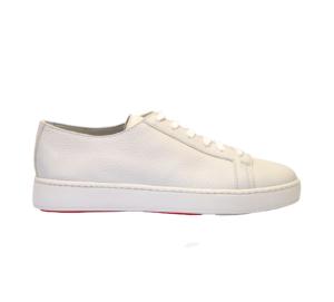 SANTONI UOMO Sneakers SNEAKERS PELLE PANNA 40, 41-2, 41, 42, 42-2, 43-2, 43, 44-2 immagine n. 1/4
