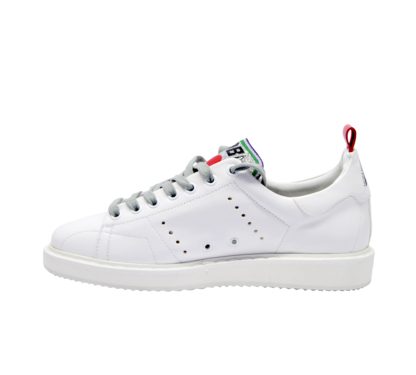 GOLDEN GOOSE DONNA Donna SNEAKERS STARTER BIANCO CUORI 37-2, 38-2, 39-2, 40, 36 immagine n. 3/4