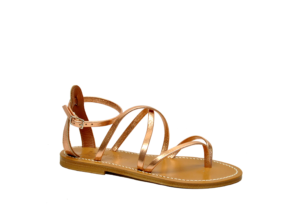 k.jacques DONNA Donna SANDALO INFRADITO IN PELLE RAME 36, 37-2, 38-2, 39-2, 40, 41-2 immagine n. 1/3