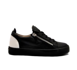 GIUSEPPE ZANOTTI UOMO Sneakers SNEAKERS PELLE NERO DOPPIA ZIP 40, 41-2, 41, 42, 42-2, 43-2, 44-2, 45-2 immagine n. 1/4