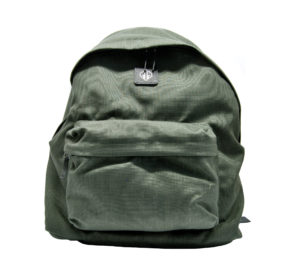 GOLDEN GOOSE UOMO BORSE THE BACKPACK GREEN CORDURA un immagine n. 1/3