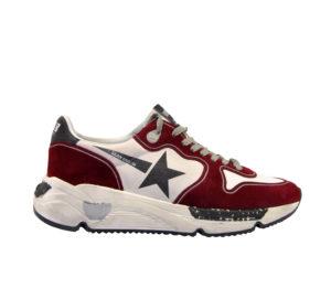 GOLDEN GOOSE UOMO Sneakers SNEAKERS RUNNING BORDEAUX 39-2, 40, 41-2, 42, 43-2, 44-2, 45-2 immagine n. 1/4