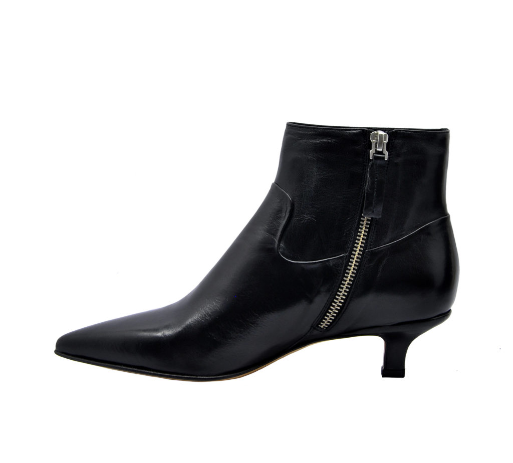 POMME D'OR DONNA Donna STIVALETTO PELLE NERO 36, 37-2, 38-2, 38, 39-2, 40 immagine n. 3/4
