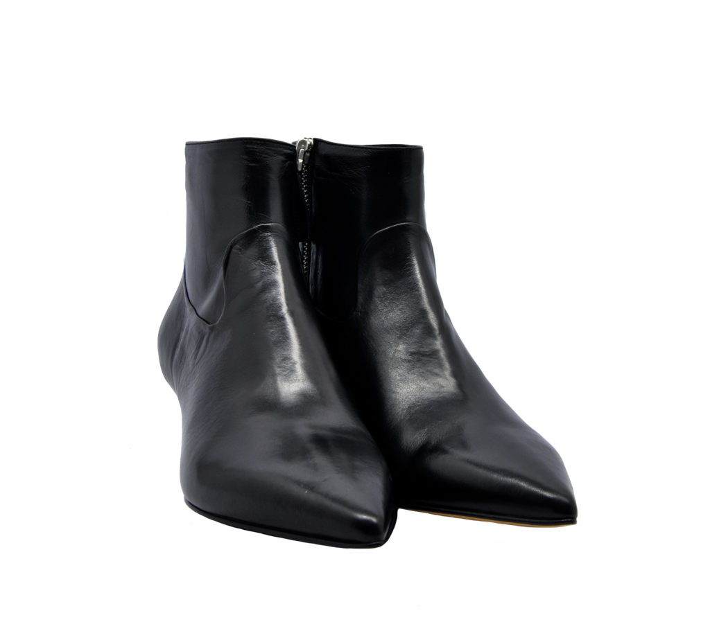 POMME D'OR DONNA Donna STIVALETTO PELLE NERO 36, 37-2, 38-2, 38, 39-2, 40 immagine n. 2/4
