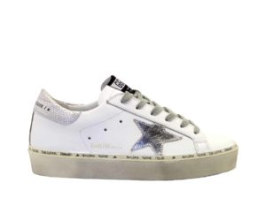 GOLDEN GOOSE DONNA Donna SNEAKERS HI STAR BIANCO 35, 36, 37-2, 38-2, 39-2, 40, 41-2 immagine n. 1/4