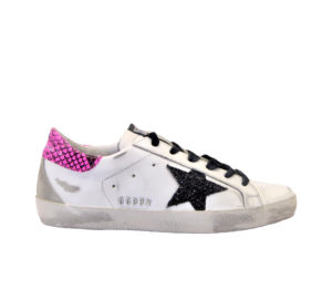 GOLDEN GOOSE DONNA Donna SNEAKERS SUPERSTAR BIANCO FUXIA 36, 37-2, 38-2, 39-2, 40, 41-2 immagine n. 1/4
