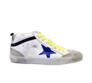 GOLDEN GOOSE UOMO Sneakers SNEAKERS MID STAR BIANCO STELLA DIPINTA 39-2, 40, 41-2, 42, 43-2, 44-2, 45-2 immagine n. 1/4