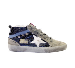 GOLDEN GOOSE DONNA Donna SNEAKERS MID STAR PELTRO 35, 36, 37-2, 38-2, 39-2, 40, 41-2 immagine n. 1/4