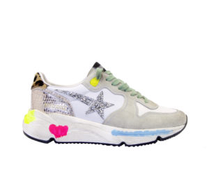 GOLDEN GOOSE DONNA Donna SNEAKERS RUNNING GHIACCIO 35, 36, 37-2, 38-2, 39-2, 40 immagine n. 1/4