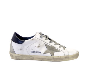 GOLDEN GOOSE DONNA Donna SNEAKERS SUPERSTAR BIANCO BLU 36, 37-2, 38-2, 39-2, 41-2 immagine n. 1/4