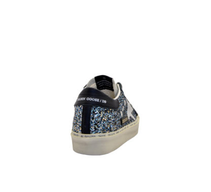 GOLDEN GOOSE DONNA Donna SNEAKERS HI STAR GLITTER BLUE 40, 40-2, 41, 41-2, 42, 42-2, 43-2, 43, 44-2, 44, 45-2, 46-2, 39, 4, 34-2, 34, 35, 36, 35-2, 36-2, 37-2, 37, 38-2, 38, 39-2 immagine n. 4/4