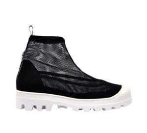 MY GREY DONNA Sneakers STIVALETTO RETE NERO 36, 41-2 immagine n. 1/4
