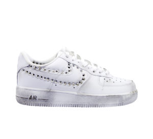 NIKE UOMO Uomo SNEAKERS AIR FORCE 1 BORCHIE 41-2, 42, 42-2, 43-2, 44-2 immagine n. 1/4