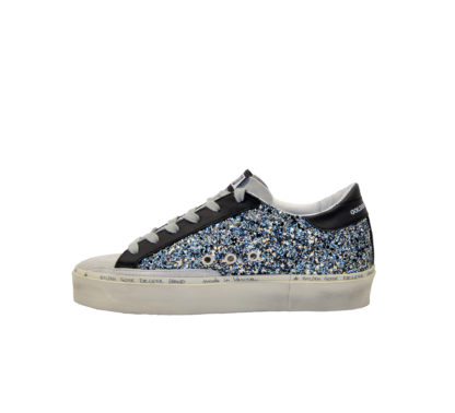 GOLDEN GOOSE DONNA Donna SNEAKERS HI STAR GLITTER BLUE 40, 40-2, 41, 41-2, 42, 42-2, 43-2, 43, 44-2, 44, 45-2, 46-2, 39, 4, 34-2, 34, 35, 36, 35-2, 36-2, 37-2, 37, 38-2, 38, 39-2 immagine n. 3/4