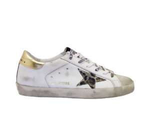 GOLDEN GOOSE DONNA Donna SNEAKERS SUPERSTAR BIANCO ORO 36, 40, 41-2 immagine n. 1/8