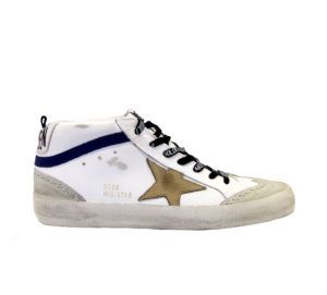 GOLDEN GOOSE UOMO CALZATURE SNEAKERS MID STAR BIANCO INCENSO 40, 41-2, 42, 43-2, 44-2, 45-2, 46-2 immagine n. 1/8