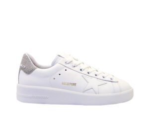 GOLDEN GOOSE DONNA Donna SNEAKERS PURE STAR BIANCO ARGENTO 36, 40, 39-2 immagine n. 1/6