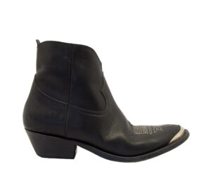 GOLDEN GOOSE DONNA Donna STIVALETTO TEXANO YOUNG BLACK 36, 40, 37-2, 38-2, 39-2, 38 immagine n. 1/4