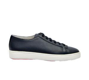 SANTONI UOMO Sneakers SNEAKERS PELLE BLU 40, 41-2, 41, 42, 42-2, 43-2, 43, 44-2, 45-2 immagine n. 1/4