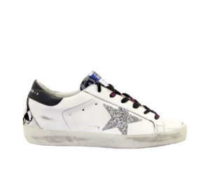 GOLDEN GOOSE DONNA Donna SNEAKERS SUPERSTAR BIANCO PITONE 36, 37-2, 38-2, 39-2, 40, 41-2 immagine n. 1/4