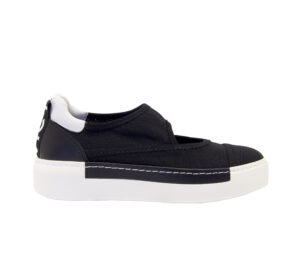 vic matie DONNA Donna SLIP ON NERO RETE 36, 40, 39-2, 41-2, 38-2 immagine n. 1/4