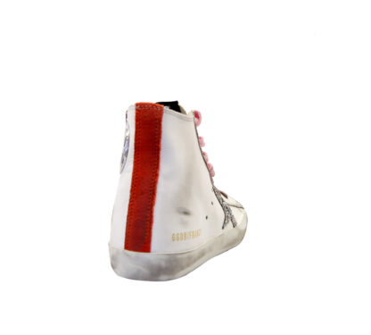 GOLDEN GOOSE DONNA Donna SNEAKERS FRANCY BIANCO 35, 36, 40, 37-2, 41-2 immagine n. 4/4