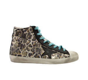 GOLDEN GOOSE DONNA Donna SNEAKERS FRANCY LEOPARD 36, 40, 37-2 immagine n. 1/4