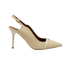 MALONE SOULIERS DONNA Donna CHANEL PELLE AVORIO 36, 37-2, 38-2, 38, 39-2, 39, 40 immagine n. 1/4