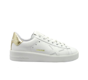 GOLDEN GOOSE DONNA Donna SNEAKERS PURE STAR WHITE GOLD 36, 40, 37-2, 38-2, 39-2, 41-2 immagine n. 1/4