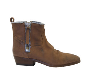 GOLDEN GOOSE DONNA Donna BOOTS VIAND BROWN DENIM 36, 37-2, 38-2, 39-2, 40 immagine n. 1/4