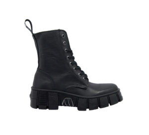 NEW ROCK DONNA Anfibio ANFIBIO PELLE NERO 36, 37-2, 38-2, 39-2, 40, 41-2 immagine n. 1/4