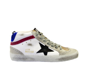 GOLDEN GOOSE DONNA Donna SNEAKERS MID STAR WHITE 35, 36, 37-2, 38-2, 39-2, 41-2 immagine n. 1/4