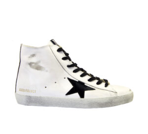 GOLDEN GOOSE UOMO CALZATURE SNEAKERS FRANCY BIANCO CAMOUFLAGE 39-2, 40, 41-2, 42, 43-2, 44-2, 45-2, 46-2 immagine n. 1/4