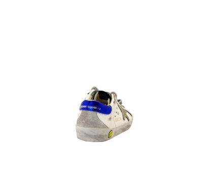 GOLDEN GOOSE UNISEX Sneakers SNEAKERS SUPERSTAR BIANCO ANIMALIER 24, 25, 26, 27 immagine n. 4/4