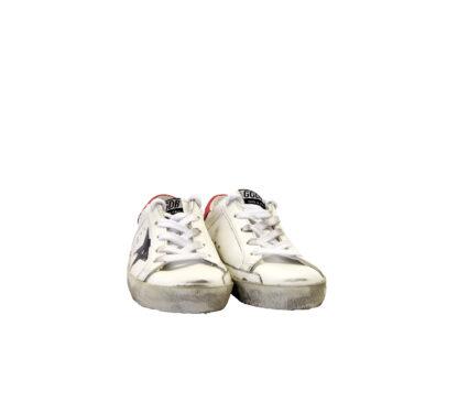 GOLDEN GOOSE UNISEX Sneakers SNEAKERS SUPERSTAR BIANCO SCRITTE 28, 29, 30, 31, 32, 33, 34-2, 35 immagine n. 2/4