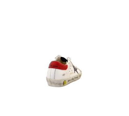 GOLDEN GOOSE UNISEX Sneakers SNEAKERS SUPERSTAR BIANCO SCRITTE 28, 29, 30, 31, 32, 33, 34-2, 35 immagine n. 4/4