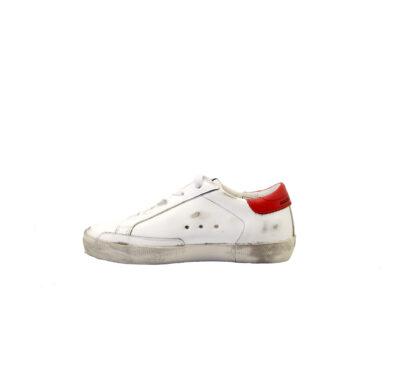 GOLDEN GOOSE UNISEX Sneakers SNEAKERS SUPERSTAR BIANCO SCRITTE 28, 29, 30, 31, 32, 33, 34-2, 35 immagine n. 3/4