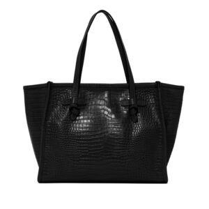 GIANNI CHIARINI MARCELLA CLUB DONNA BORSE SHOPPING MEDIA NERO un immagine n. 1/1