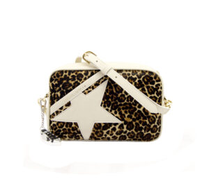 GOLDEN GOOSE DONNA BORSE STAR BAG PANNA un immagine n. 1/3