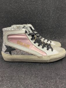 GOLDEN GOOSE DONNA Donna SNAEKERS SLIDE ROSE 36, 37-2, 38-2, 39-2, 40, 41-2 immagine n. 1/1