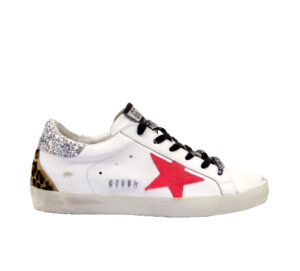 GOLDEN GOOSE DONNA Donna SNEAKERS SUPERSTAR BIANCO FUXIA 35, 36, 37-2, 38-2, 39-2, 40, 41-2 immagine n. 1/4