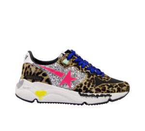 GOLDEN GOOSE DONNA Donna SNEAKERS RUNNING ANIMALIER 36, 37-2, 38-2, 39-2, 40 immagine n. 1/4