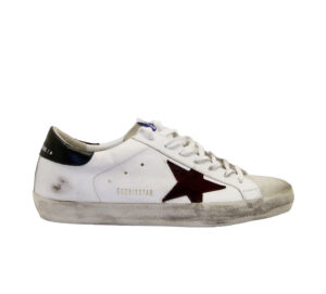 GOLDEN GOOSE UOMO CALZATURE SNEAKERS SUPERSTAR BIANCO ARMY 40, 41-2, 42, 43-2, 44-2, 45-2, 46-2 immagine n. 1/4