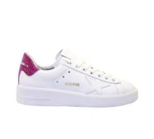 GOLDEN GOOSE DONNA Donna SNEAKERS PURE STAR BIANCO PINK 36, 37-2, 38-2, 39-2, 41-2 immagine n. 1/4