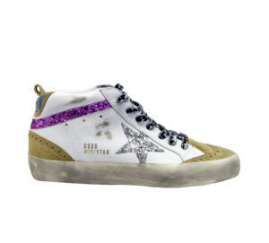 GOLDEN GOOSE DONNA Donna SNEAKERS MID STAR BIANCO FUXIA 36, 37-2, 38-2, 39-2, 40, 41-2 immagine n. 1/4