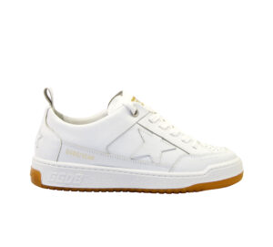 GOLDEN GOOSE DONNA Donna SNEAKERS YEAH OPTIC WHITE 36, 37-2, 38-2, 39-2, 40, 41-2 immagine n. 1/4