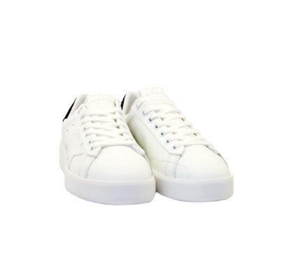 GOLDEN GOOSE DONNA Donna SNEAKERS PURE STAR BIANCO NERO 36, 37-2, 38-2, 39-2, 40, 41-2 immagine n. 2/4